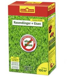 Wolf Garten 3842015 Rasendünger + Eisen L-PM100