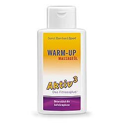 Aktiv³ Warm-up-Massageöl 250-ml-Flasche