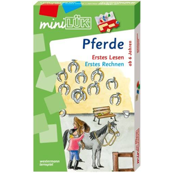 miniLüK-Set: Pferde - Erstes Lesen/Erstes Rechnen 4510