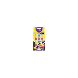 Günthart Zucker Smileys bunt aus Zuckerguss Dekorartikel 12 Gramm