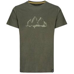LACD Bellavista T-Shirt RCP beetle green Klettershirt