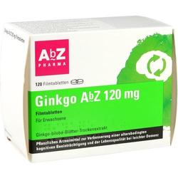 GINKGO AbZ 120 mg Filmtabletten 120 St.