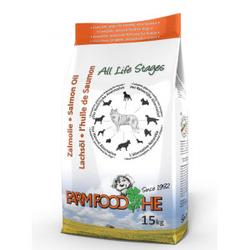 Farmfood HE Schottisches Lachsöl Hundefutter 2 x 15 kg