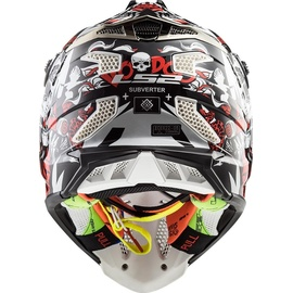 LS2 MX470 Subverter Voodoo Black/White/Red