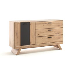 MCA furniture Sideboard Calais in Balkeneiche-Optik/grau