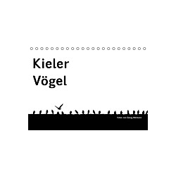 Kieler Vögel (Tischkalender 2021 DIN A5 quer)