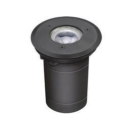 Licht-Trend LED Gartenleuchte Edelstahl rund IP54