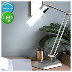 WOFI LED Schreibtischlampe, LED 3 Watt Tischleuchte Tisch Lampe Schalter beweglich Büro Schreibtisch Wohnzimmer
