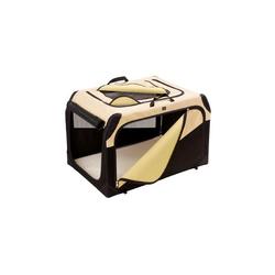Hunter Hundetransportbox M beige 76 x 51 x 48 cm / max. 25 kg