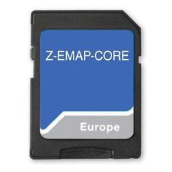 Zenec Z-EMAP CORE Navi Karte Zenec Core Geräte
