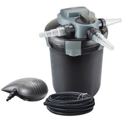 Heissner Teichfilter FPU7200-Set, mit UVC-Klärer, Förderleistung: 2.200 l/h