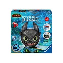 puzzleball  Dragons 3 Ohnezahn mit Ohren