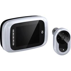 Basi TS 750silber 6800-0060 Digitaler Türspion mit LCD-Display 8.89cm 3.5 Zoll