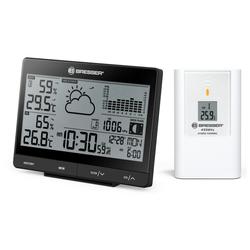BRESSER Funkwetterstation Tendence WSX mit 24h-Luftdruckdiagramm