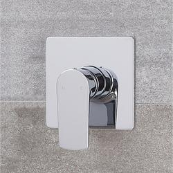 Moderne Manuelle 1-Weg Duscharmatur in Chrom - Harting
