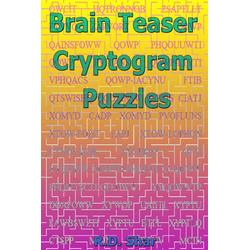 Brain Teaser Cryptogram Puzzles: eBook von R. D. Shar