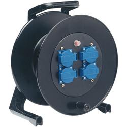 Kabeltrommel-Hartgummi 50 m Gummikabel 3x1.5 qmm H
