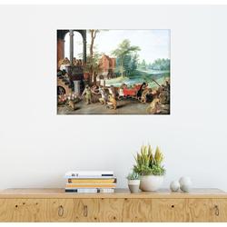 Posterlounge Wandbild, Ein Spottgedicht auf den Unsinn der Tulpenmanie 90 cm x 70 cm