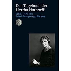 Das Tagebuch der Hertha Nathorff. Hertha Nathorff  - Buch