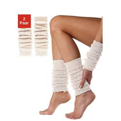 Sympatico Beinstulpen und Armstulpen natur