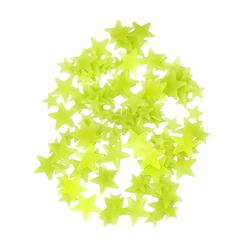 100 Leuchtsterne Sticker Stern Aufkleber Selbstleuchtend Wandsticker