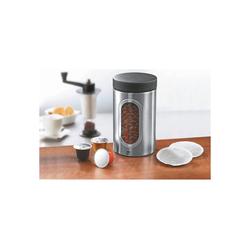 GEFU Kaffeedose Kaffeepad Dose PIERO, Edelstahl, (1-tlg)