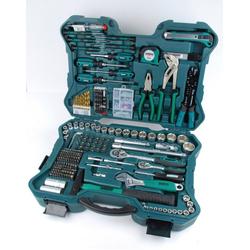Brueder Mannesmann Werkzeuge Werkzeugkoffer (303-tlg.) grün