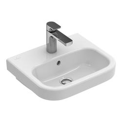Villeroy & Boch Architectura Handwaschbecken mit HL, mit ÜL 45 x 38 cm… Weiß Alpin