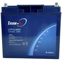Vision Akkus LiFePo4 1220 Spezial-Akku LiFePo-Block Schraubkontakt LiFePO 4 12.8V 20000 mAh