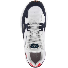 adidas Falcon white-navy-red/ white, 36.5