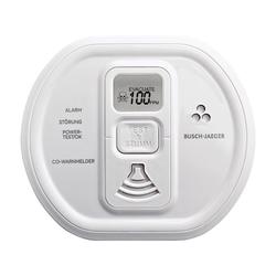 Busch Jaeger 6839/01-84, Busch-CO Alarm ProfessionalLINE, studioweiß, Rauchmelder/Wärmemelder, Busch-CO Alarm ProfessionalLINE