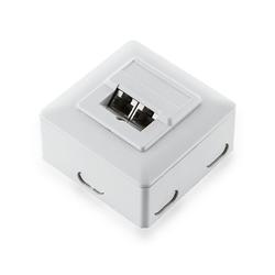 deleyCON CAT.5e Dose Netzwerkdose Netzwerk-Adapter