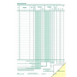 Kassenbuch A4 2x50 Blatt nummeriert