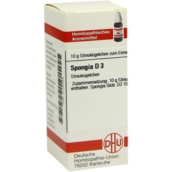 SPONGIA D 3 Globuli 10 g