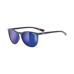 Uvex Sonnenbrille Sonnenbrille lgl 43 blue havanna/mir.blue blau