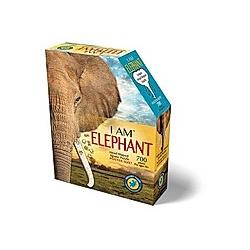 Shape Puzzle Elefant (Puzzle)