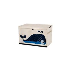 3 Sprouts Aufbewahrungsbox Aufbewahrungskiste Krokodil, 38 x 61 cm blau
