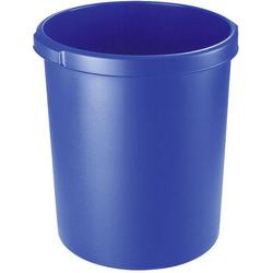 HAN KLASSIK 1834-14 Papierkorb 30l (Ø x H) 303mm x 410mm Blau