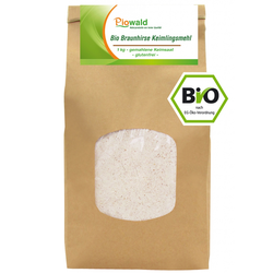 BIO Braunhirse Keimlingsmehl - 1 kg, glutenfrei