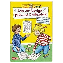 Lauter lustige Mal- und Denkspiele / Conni Gelbe Reihe Bd.47. Hanna Sörensen  - Buch