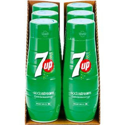 Sodastream Sirup 7up 0,44 Liter, 6er Pack