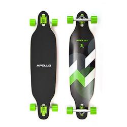 Twin Tip DT Longboard Suva schwarz/grün