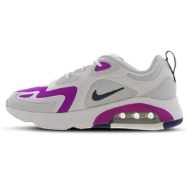 Nike Women's Air Max 200 dust/white/vivid purple/valerian blue 38