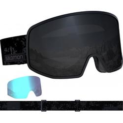 SALOMON LO FI BLACK Schneebrille 2021 tie-dye/sol black