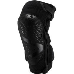 Leatt 3DF 5.0 Zip Motocross Knieschoner, schwarz, Größe 2XL