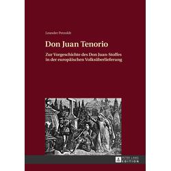 Don Juan Tenorio als Buch von Leander Petzoldt