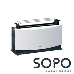 Braun MultiToast HT 550 2Scheibe(n) Weiß Toaster