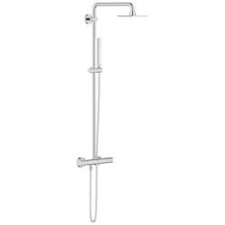 Grohe Duschsystem Euphoria System 152, Höhe 113,2 cm, 2 Strahlart(en), Set, chrom