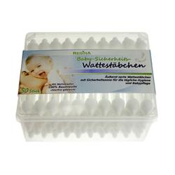 Regina Baby Sicherheits-Wattestäbchen, Inhalt: 55 Stück, Äußerst zarte Wattestäbchen