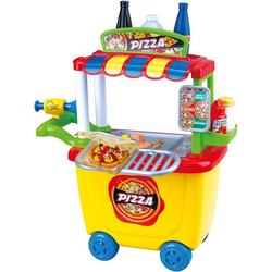 Playgo Knete Knetset Pizza-Wagen